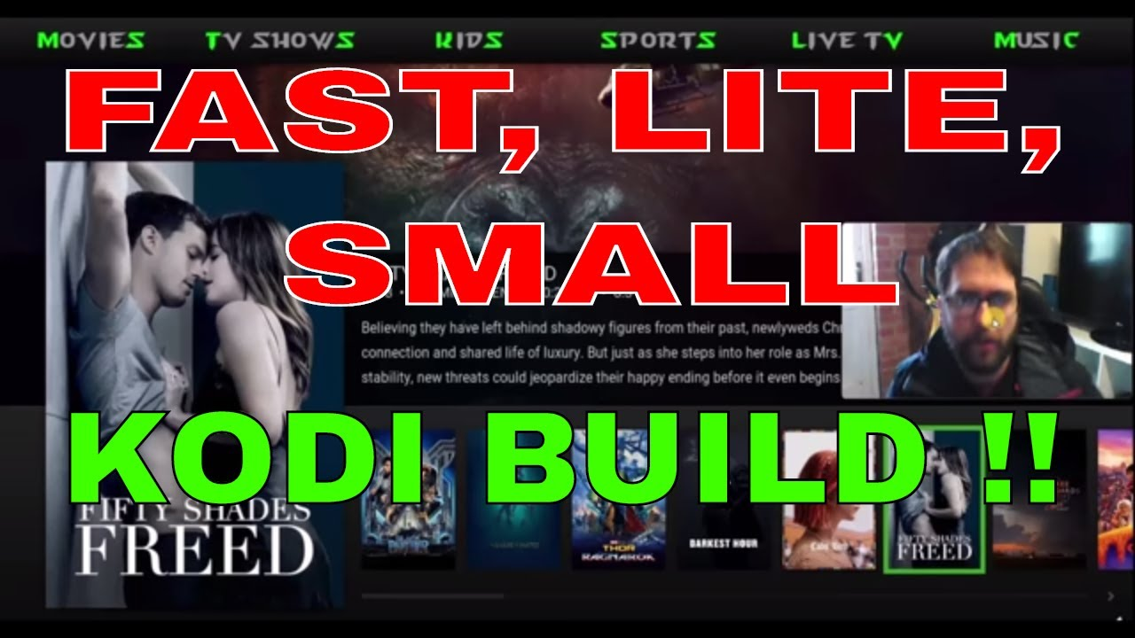 BEST KODI LITE BUILD FOR AMAZON FIRE STICK AND ALL DEVICES !!