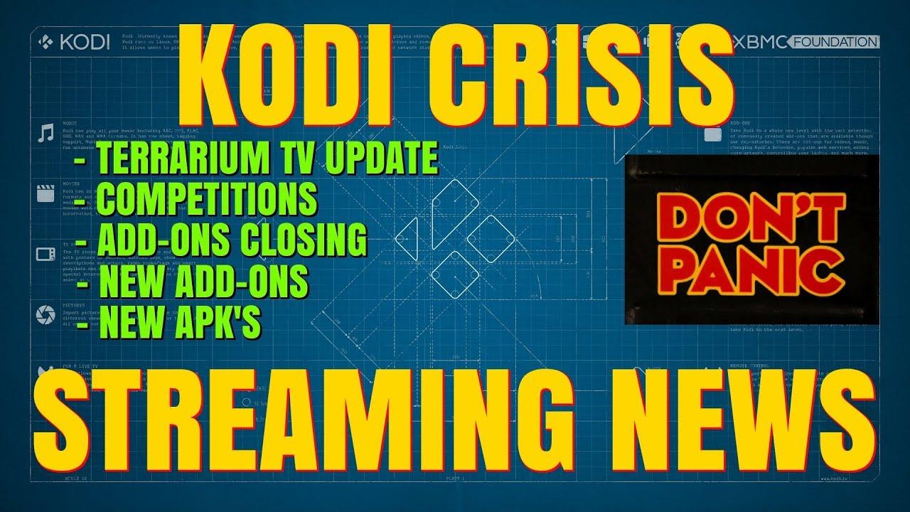 KODI CRISIS STREAMING NEWS !! – LATEST KODI NEWS