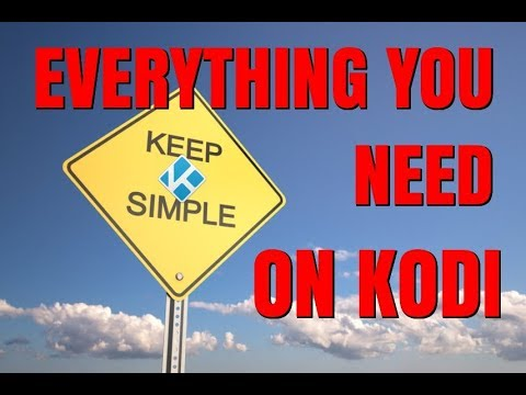 KODI IS SO SIMPLE WITH THIS !!