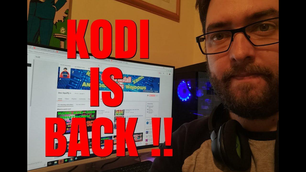 BRING KODI BACK TO LIFE !!