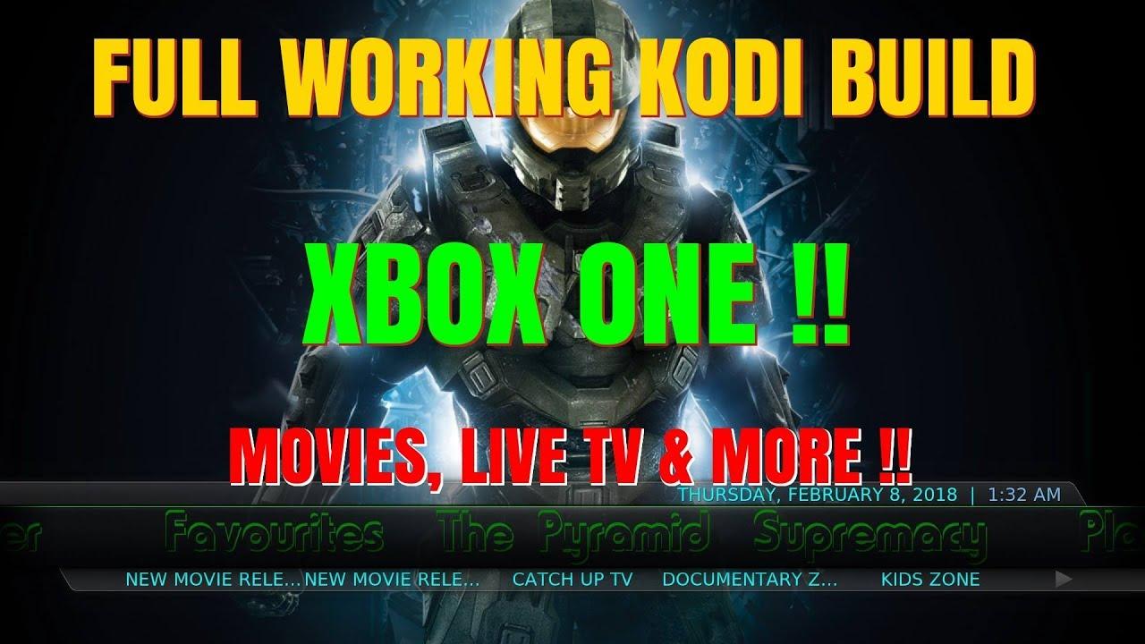 FULL KODI BUILD XBOX ONE