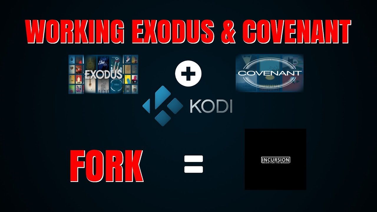 EXODUS & COVENANT FORK THAT WORKS ON KODI