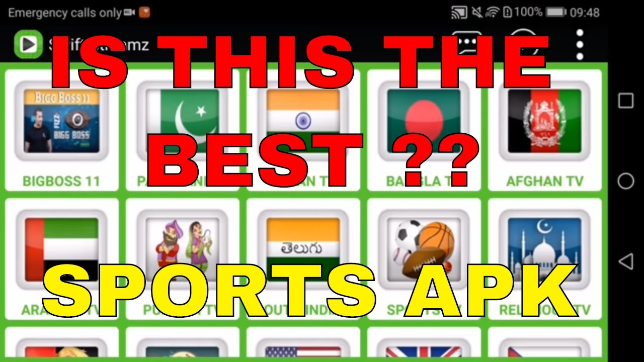IS THIS THE BEST SPORTS APK ? (2018)
