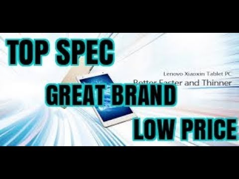 BEST ANDROID TABLET – HIGH SPEC, LENOVO BRAND – LOW PRICE