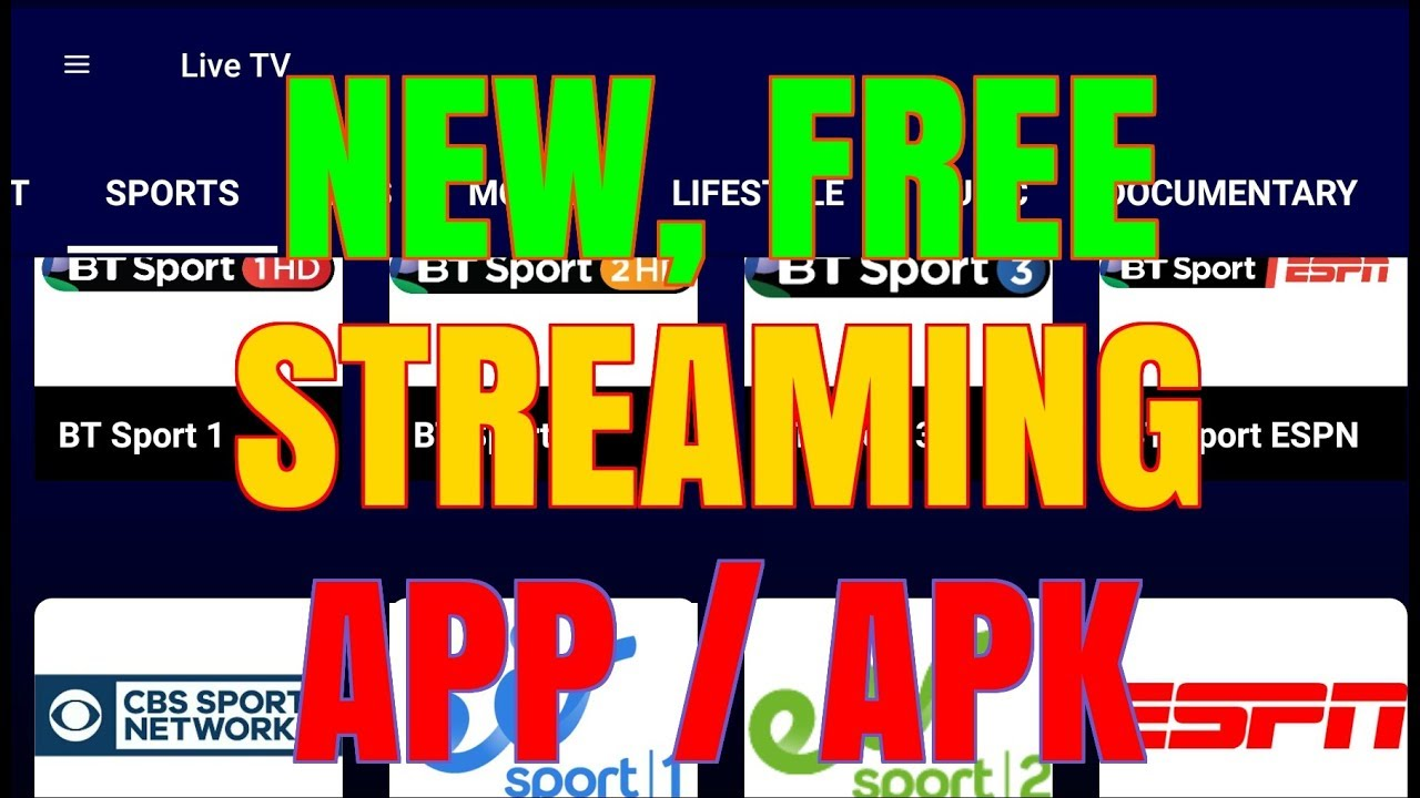 BRAND NEW LIVE TV APK – IS IT THE BEST SO FAR ??