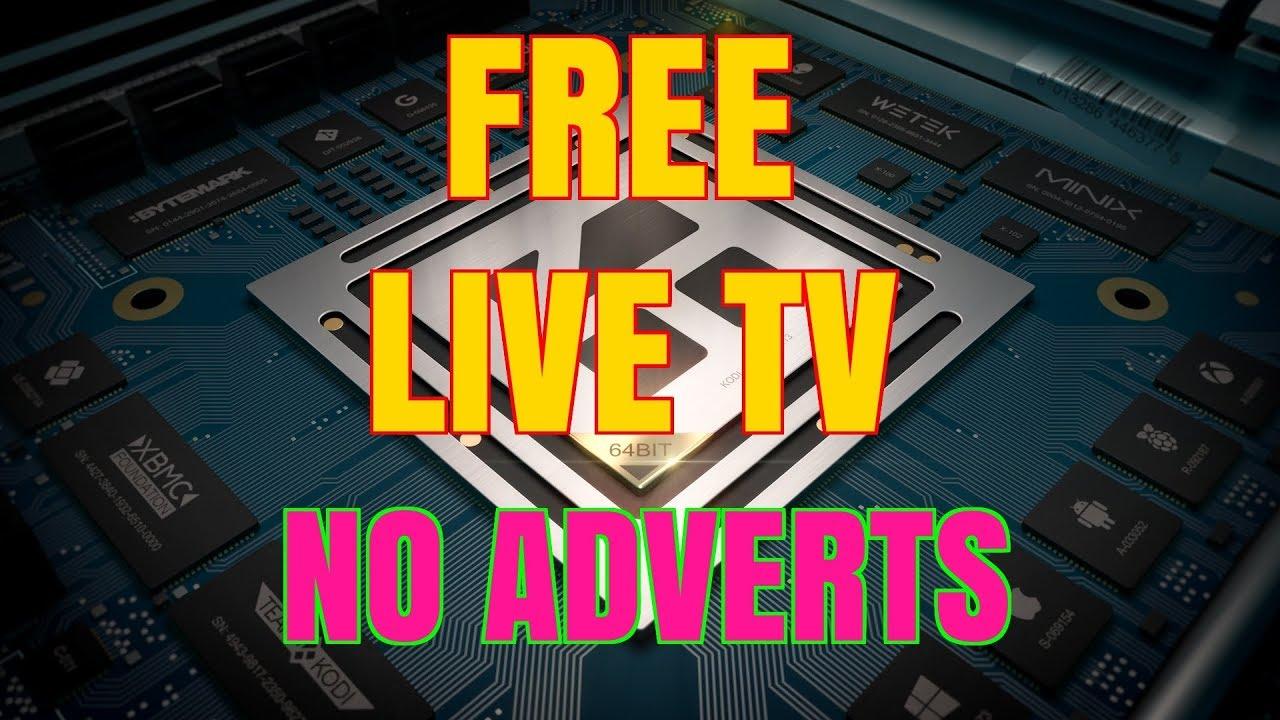 FREE LIVE TV ON KODI