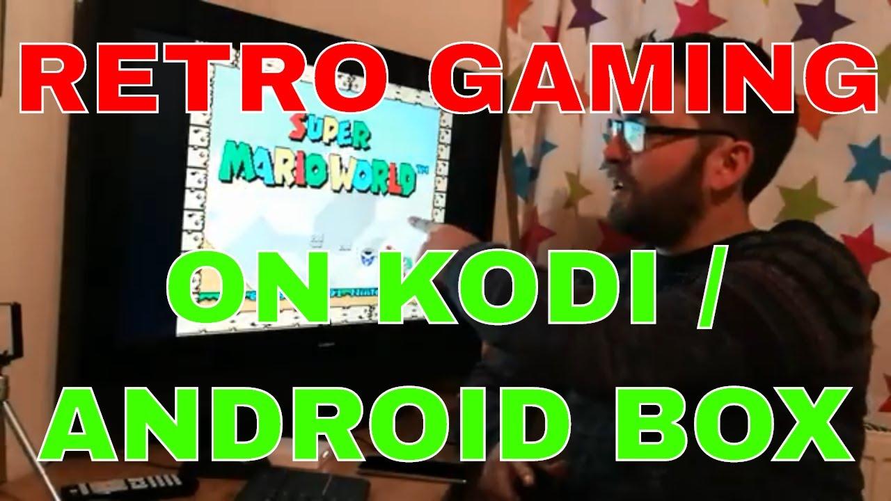 RETRO GAMING ON YOUR KODI / ANDROID BOX