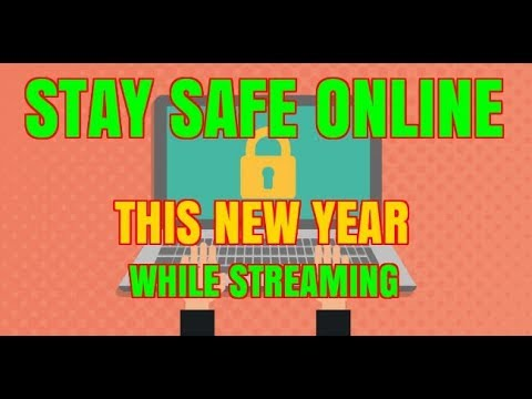STAY SAFE ONLINE THIS NEW YEAR !!