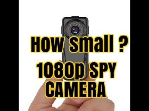 SUPER SMALL Surveillance Camera Mini Camera, 1080P SPY CAMERA (2017)