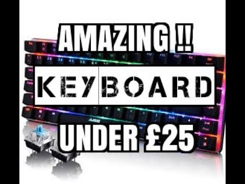 Need a new keyboard? then check this out !! (2017)