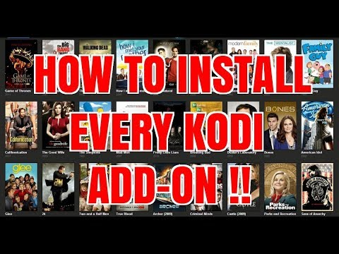 HOW TO INSTALL EVERY KODI ADD-ON PLUS A NICE TIP 😜