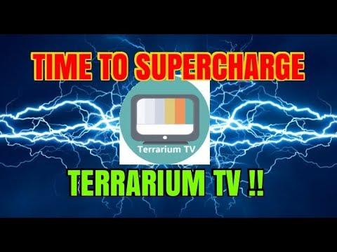 TIME TO SUPERCHARGE TERRARIUM TV (2017)