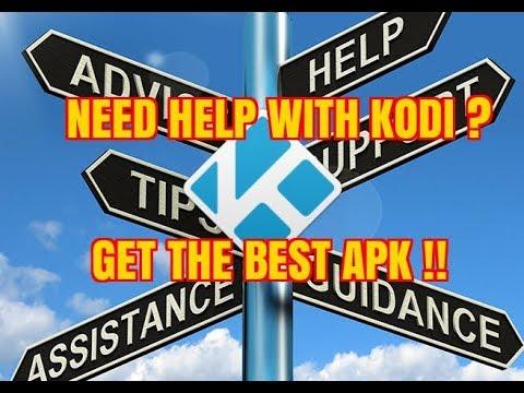 THE NO.1 KODI, ADD-ONS & APK SUPPORT APP (2017)
