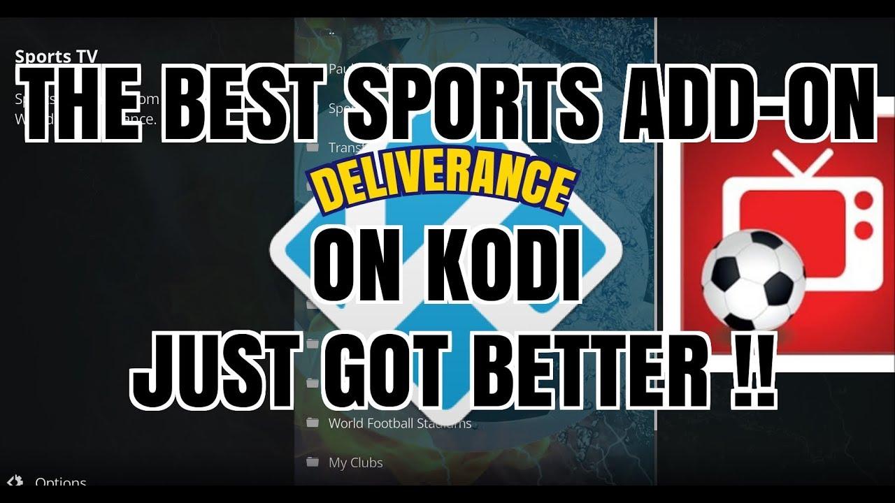 THE NO.1 SPORTS ADD-ON ON KODI JUST GOT BETTER (2017)