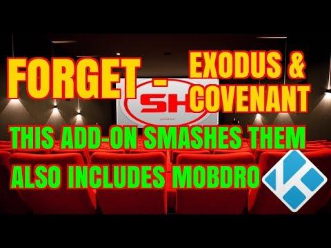 FORGET COVENANT & EXODUS on kodi THIS ADD-ON SMASHES THEM (2017)