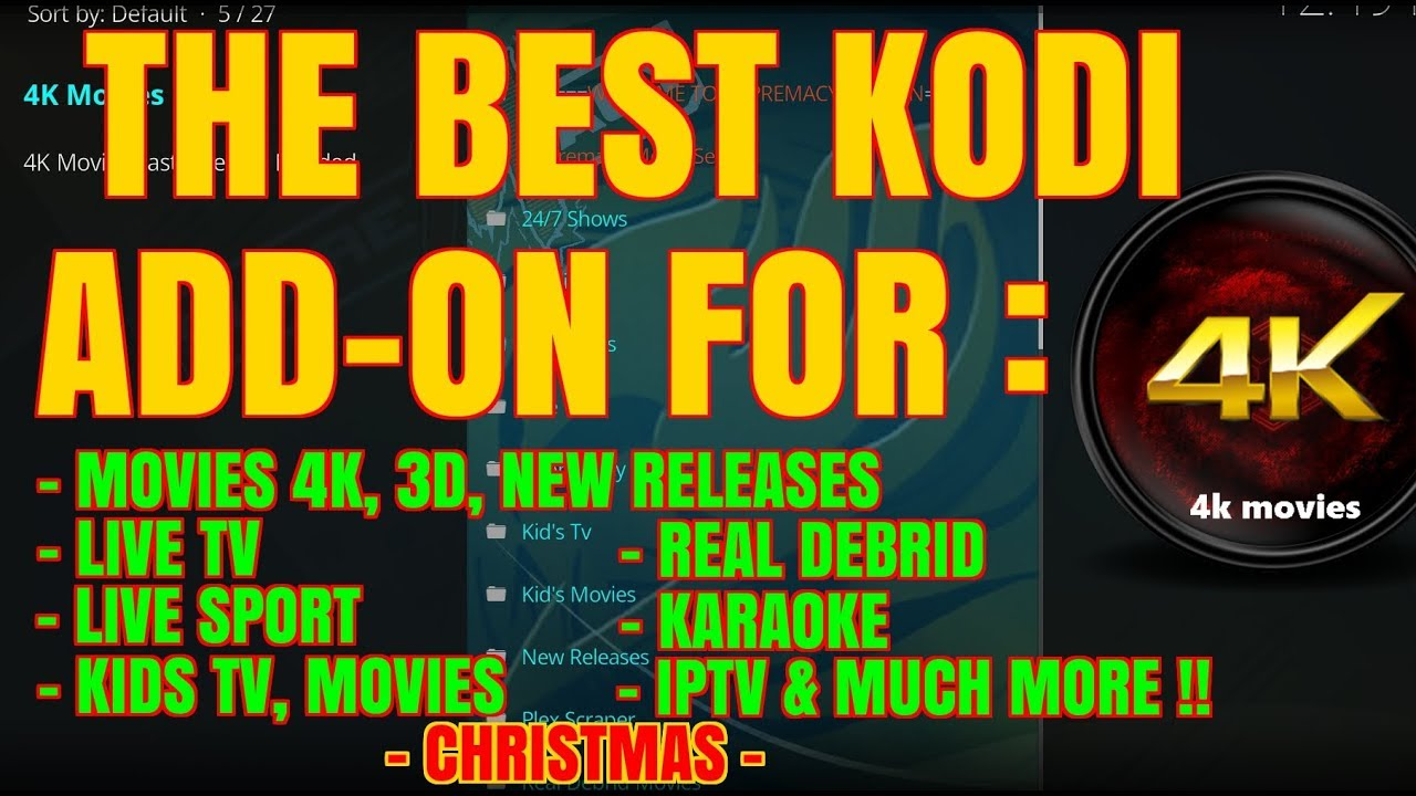 KODI ADD-ONS NOT WORKING – TRY SUPREMACY FOR MOVIES, SPORT & MORE (2017)