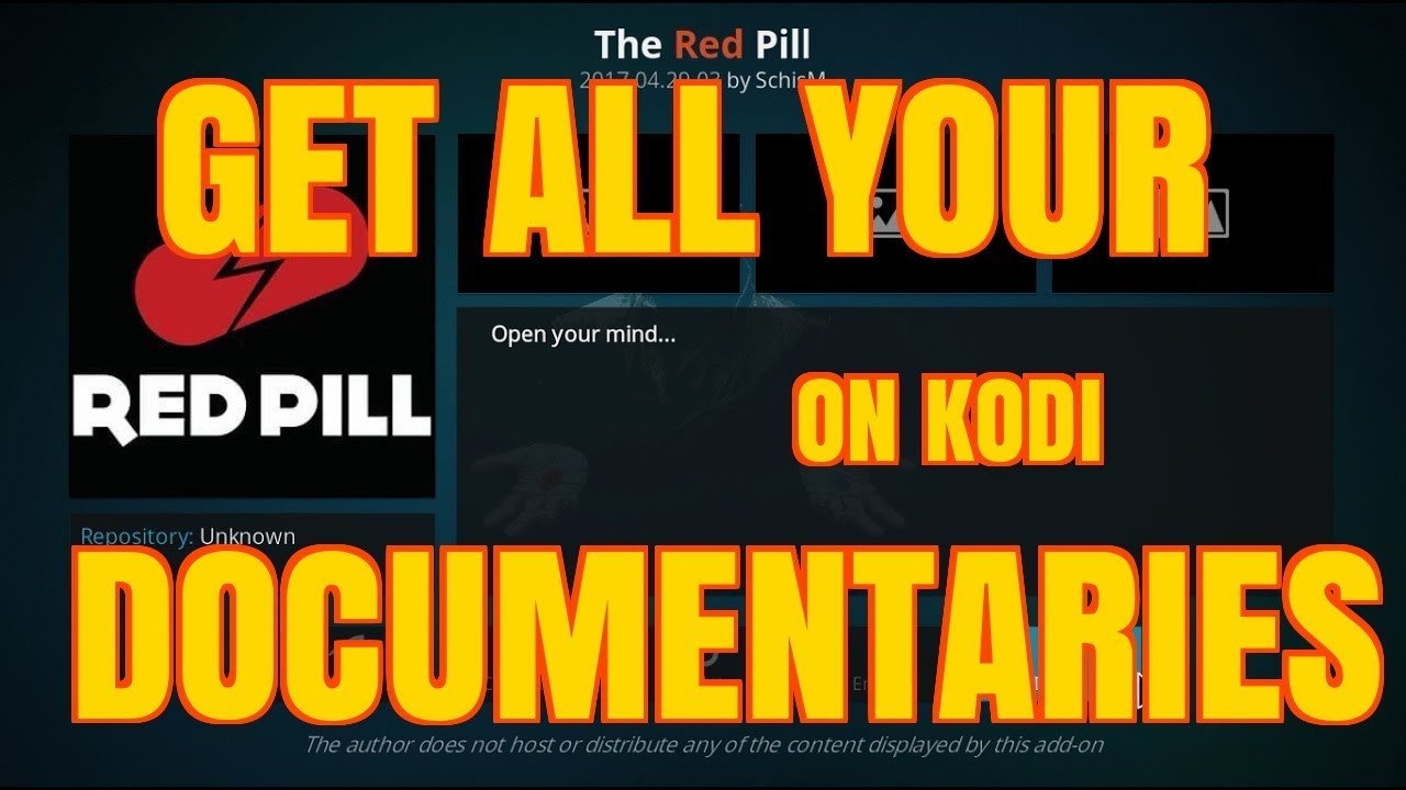 DO YOU LIKE DOCUMENTARIES – THEN THIS IS THE KODI ADD-ON FOR YOU !! (2017)