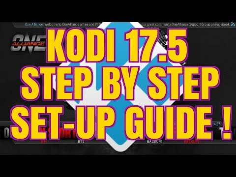 KODI 17.5 Complete Set Up Guide With Add Ons & Build