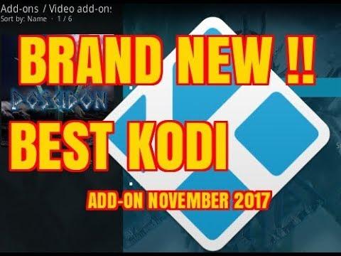 THE NO.1 BEST MOVIE & TV KODI ADD-ON FOR NOVEMBER (2017)