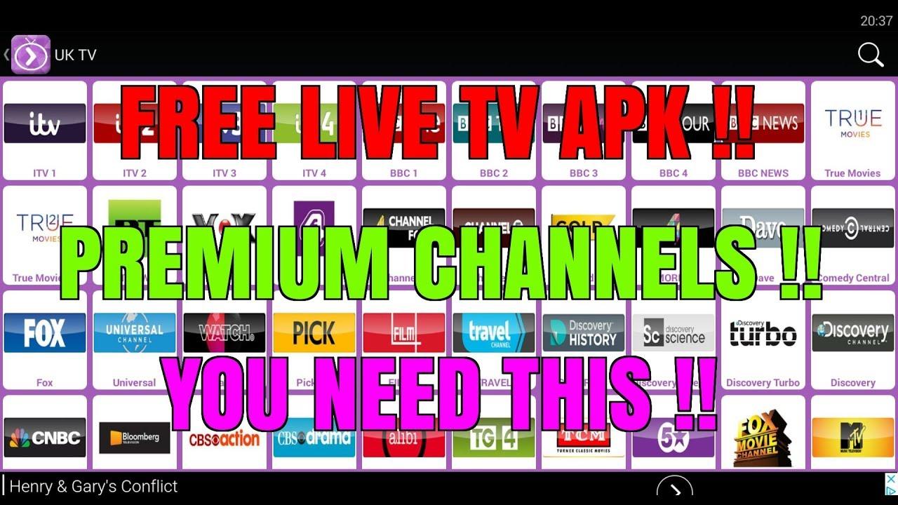 FREE PREMIUM LIVE TV APK 🔥 YOU NEED THIS 😉BETTER THAN KODI & SWIFT STREAMS