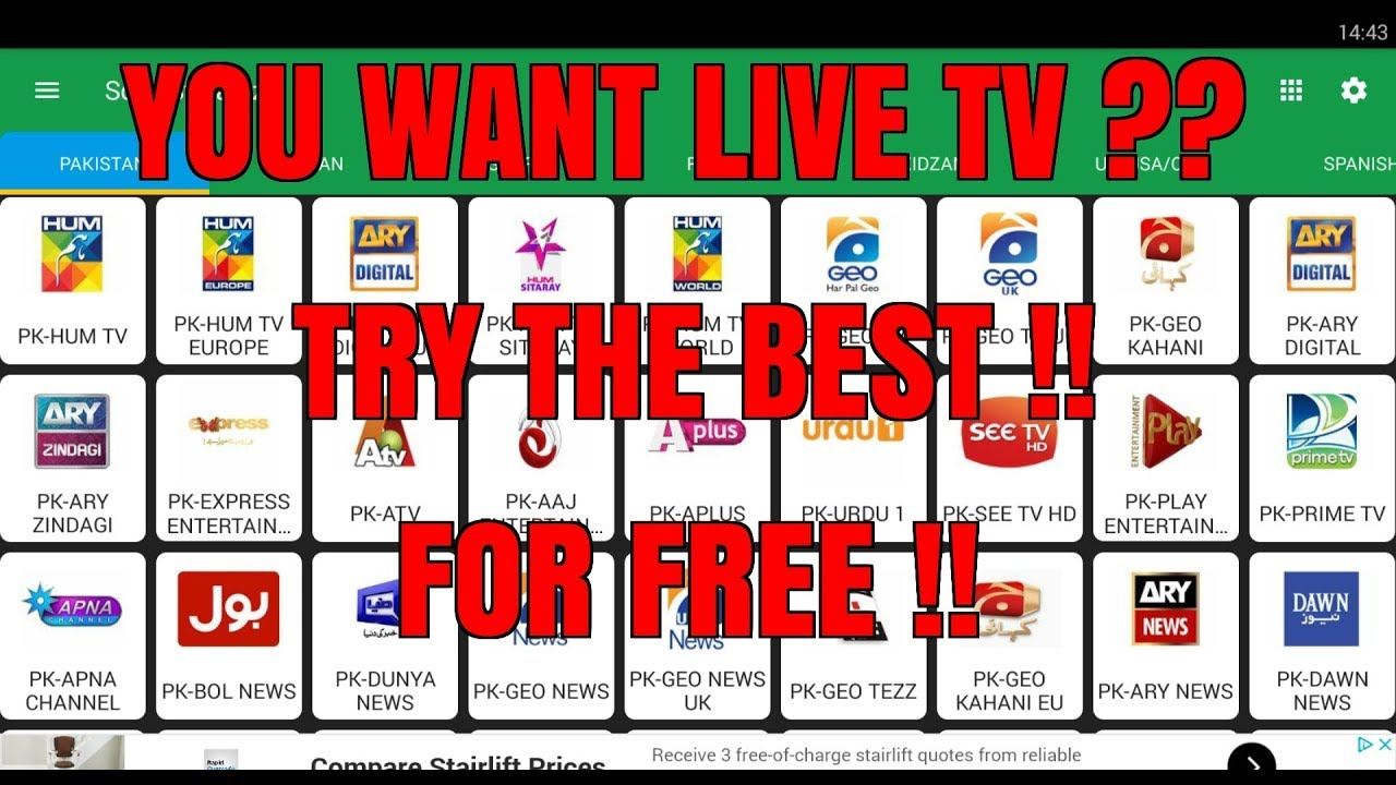 THE BEST LIVE TV APK ? IS IT BETTER THAN KODI ? IS IT BETTER THAN MOBDRO ?