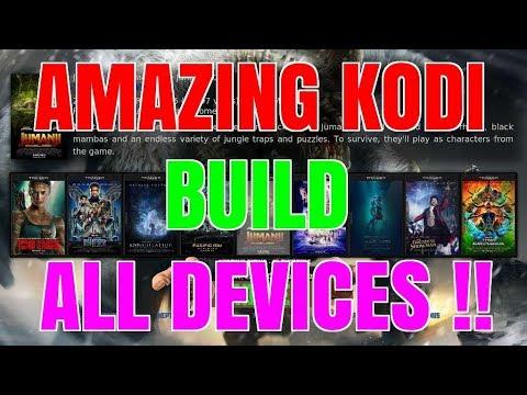 KODI NEWS – BRAND NEW BUILD DEVELOPER – AMAZING KODI BUILD FOR ALL DEVICES !!