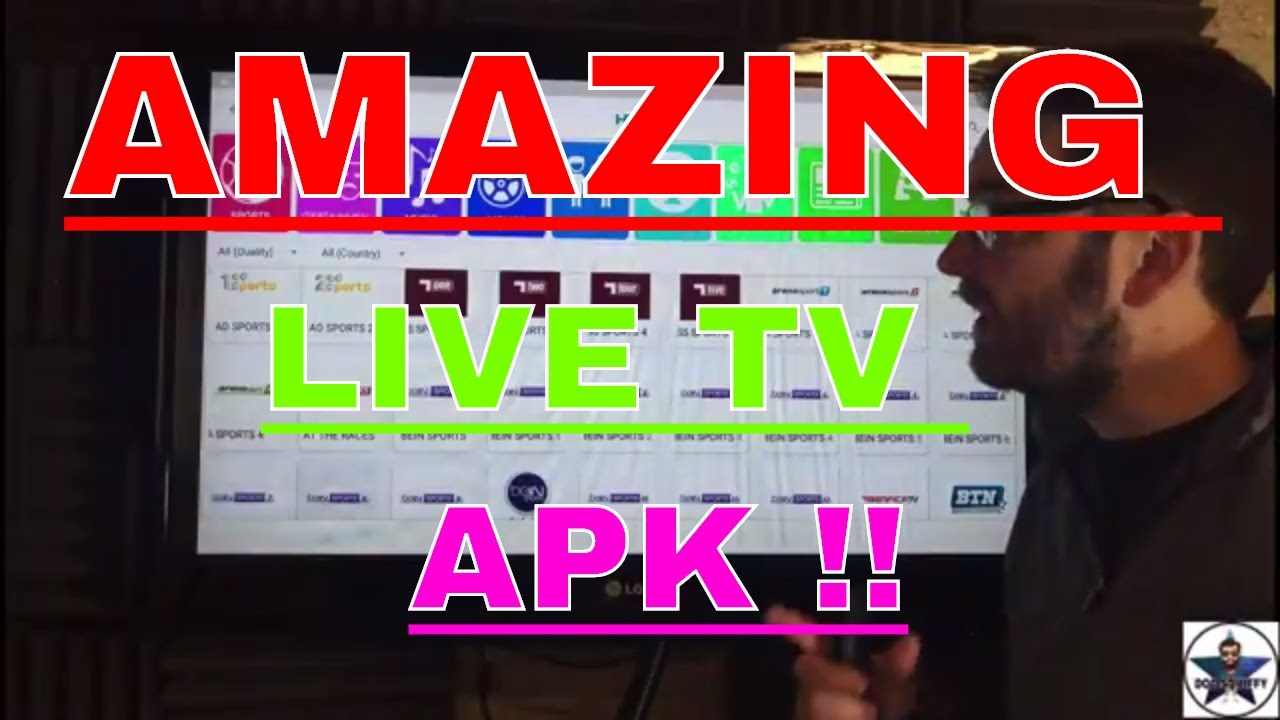 FREE LIVE TV APK WITH SPORTS – ENTERTAINMENT – U K – US & MORE