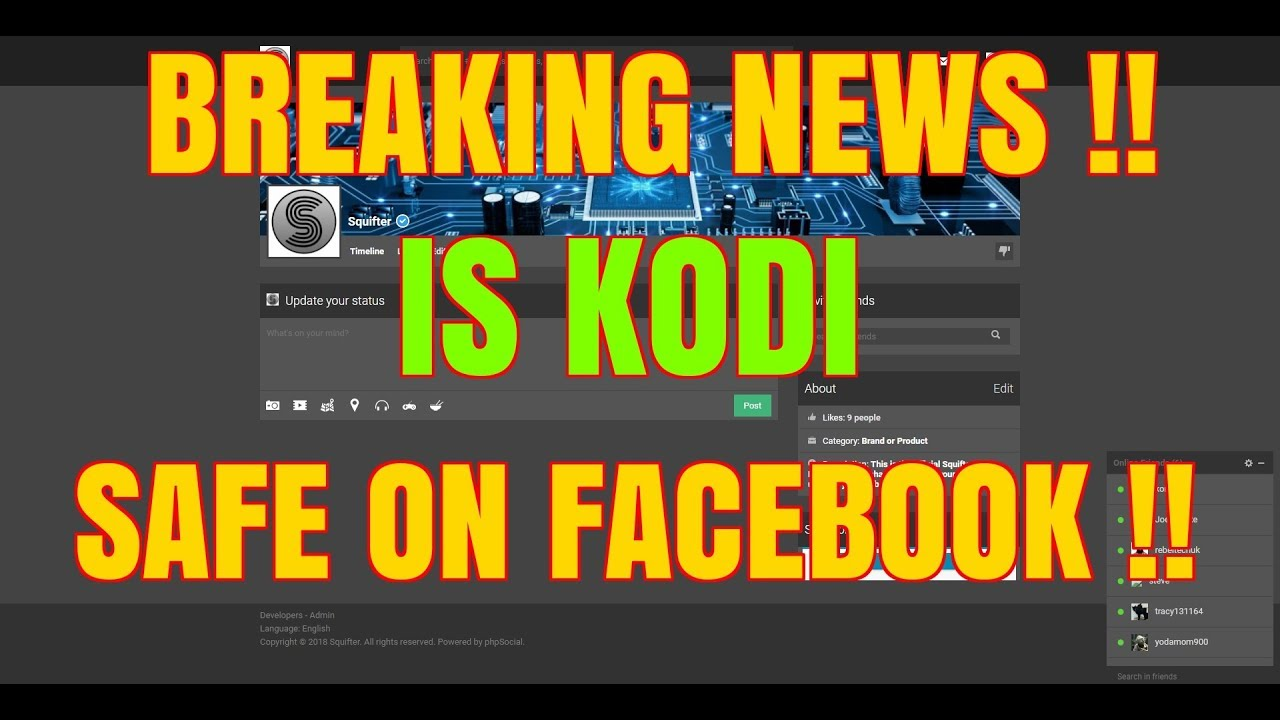 KODI USERS, KODI DEVELOPERS – IS YOUR DATA SAFE FROM FACEBOOK DATA BREACH ??