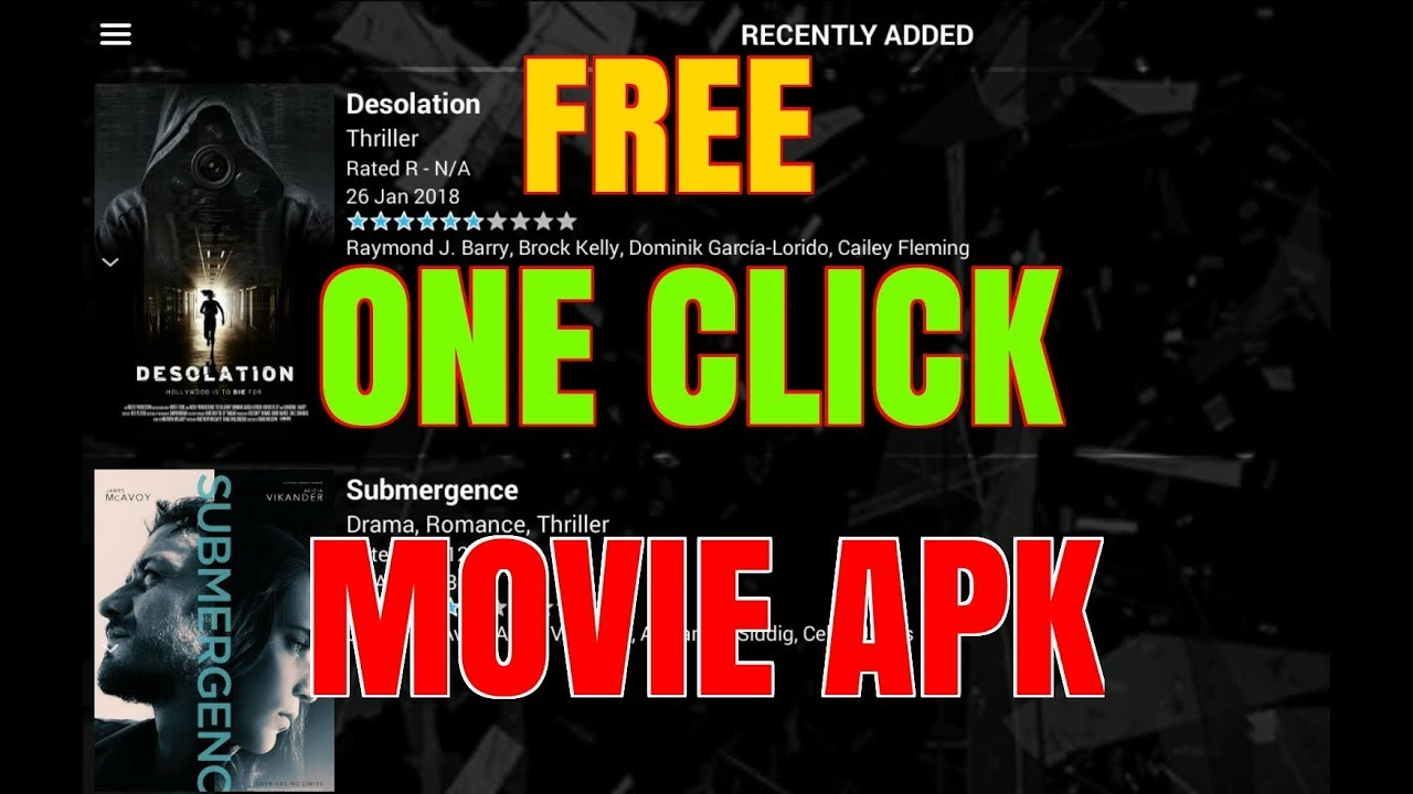 KODI & TERRARIUM TV ALTERNATIVE – AMAZING ONE CLICK MOVIE APK !!