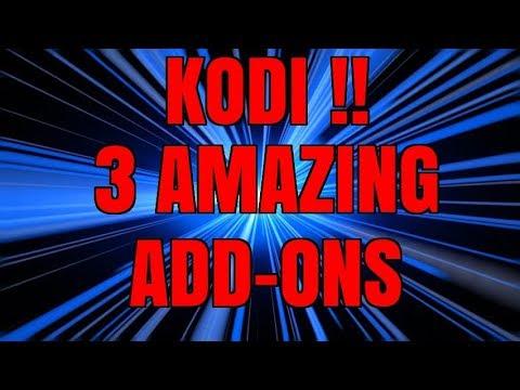 KODI – 2 MUSIC ADD-ONS, ONE KODI DOCUMENTARY ADD-ON – ONE REPO