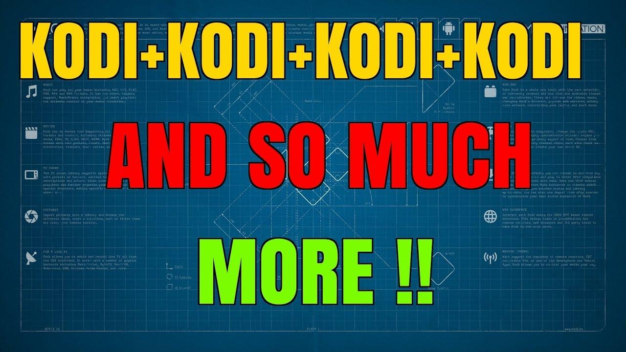 """KODI, KODI, (""""KODI"""") & MORE KODI"""