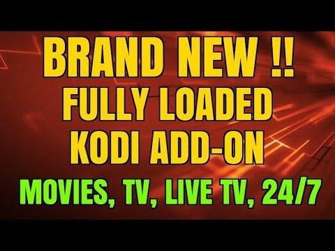 BRAND NEW FULLY LOADED KODI ADD-ON !!