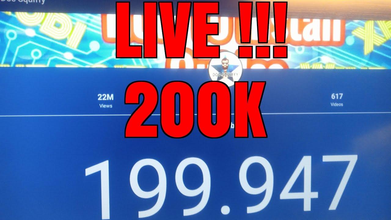 Kodi & Doc Squiffy News 200k Live Update