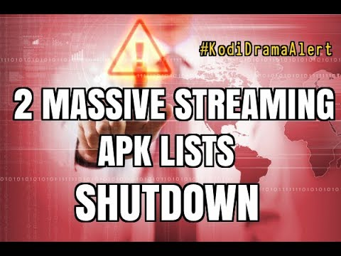 2 of the BIGGEST STREAMING APK LISTS SHUTDOWN