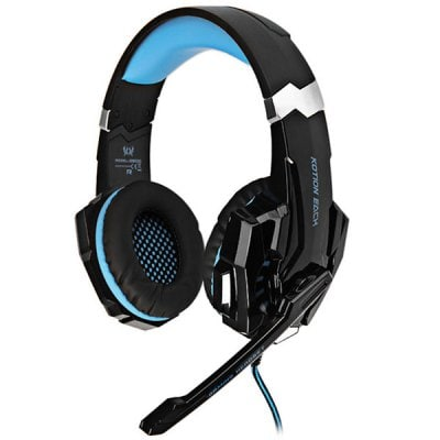 SPECIAL OFFER –  KOTION EACH G9000 3.5mm USB Gaming Headset Over Ear Headphones for PS4  =  £16.67