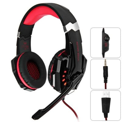 SPECIAL OFFER –  KOTION EACH G9000 3.5mm USB Gaming Headset Over Ear Headphones for PS4  =  £16.53