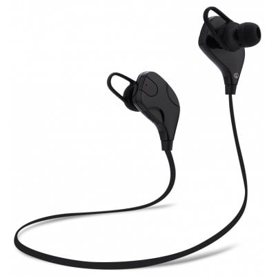 SPECIAL OFFER –  QY7S Bluetooth V4.1 Wireless Sport Earphones Headphones  =  £7.3