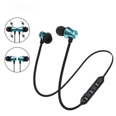 SPECIAL OFFER –  Binaural Wireless Sports Bluetooth Headset XT11 In-Ear Explosion Magnetic Bluetooth Headset  =  £3.26