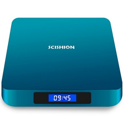 SPECIAL OFFER –  SCISHION AI ONE Android 8.1 TV Box  =  £47.18