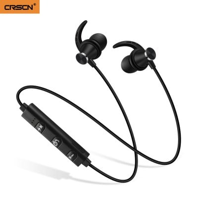 SPECIAL OFFER –  Binaural Wireless Bluetooth Sports Headphones Subwoofer Metal Magnetic Bluetooth Headset Running Wireless Headphones  =  £5.05