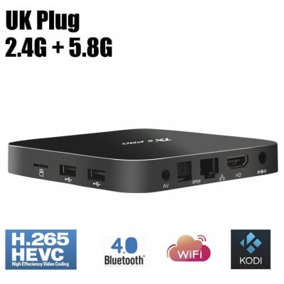 SPECIAL OFFER –  TX5 Pro Movie TV Box Android Amlogic S905X  =  £43.64