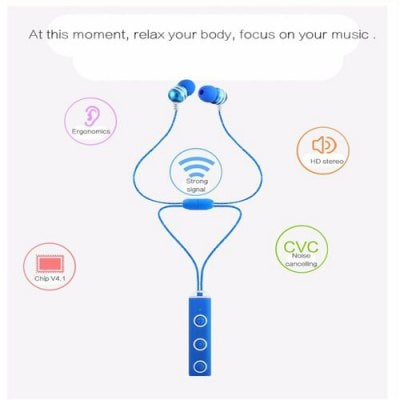 SPECIAL OFFER –  Bluetooth 4.1 Phone With Earphone Earbuds Stereo Headset  =  £20.5