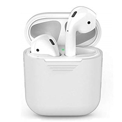 SPECIAL OFFER –  Silicone Headphones Case for AirPods Headset Protective Sleeve Storage Box  =  £1.28