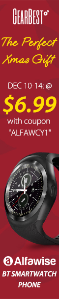Special Promotion –  Flash sale $12.99 for Alfawise 696 Y1 Bluetooth Smartwatch Phone