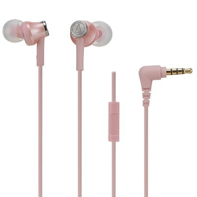 SPECIAL OFFER –  Audio Technica/Tie Delta ATH-CK350IS Mobile Phone Call Control With Wheat In-ear Headphones  =  £35.43