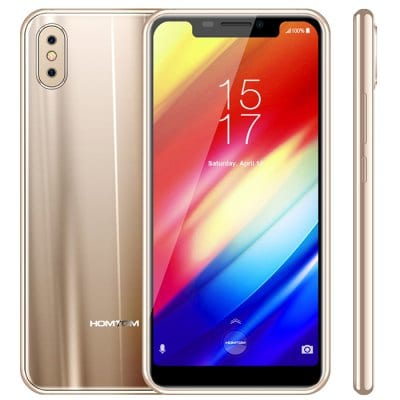 SPECIAL OFFER –  Homtom H10 4G Phablet   =  £157.77