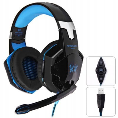 SPECIAL OFFER –  KOTION EACH G2200 7.1 Surround Sound Gaming Headphones  =  £29.89