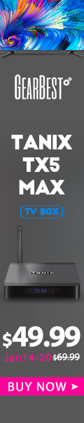 Special Promotion –  Flash sale $49.99 for Tanix TX5 Max Android 8.1 TV Box -32GB