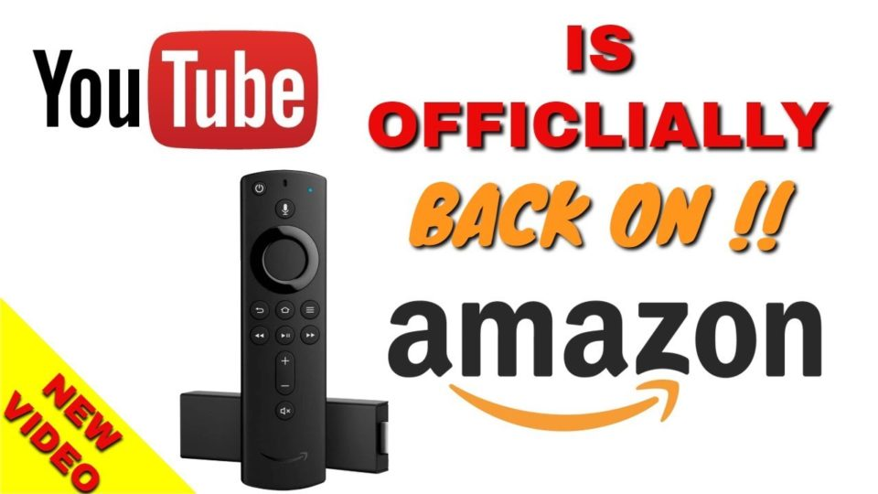 YouTube is Officially back on Amazon FIRESTICK - Easy