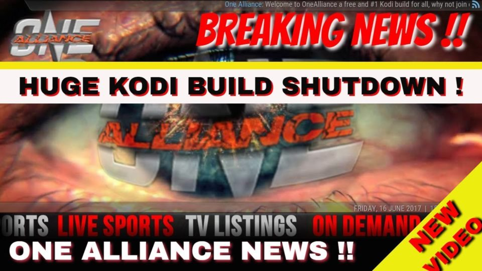 Kodi Shutdown - huge Kodi build shuts down ! Another Blow